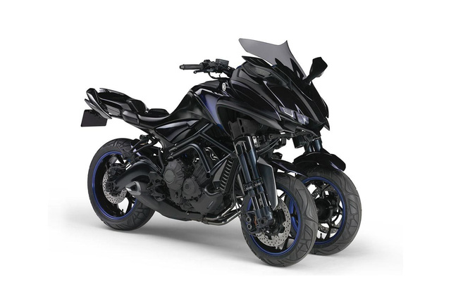 Yamaha MWC-4 - Xe 4 bánh mang cảm hứng mô tô và nhạc cụ - Ảnh 2.