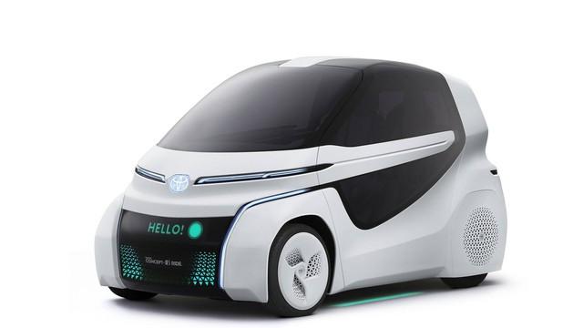 Toyota Concept-i Ride - Xe nhỏ nhất thế giới được trang bị cửa cánh chim - Ảnh 2.