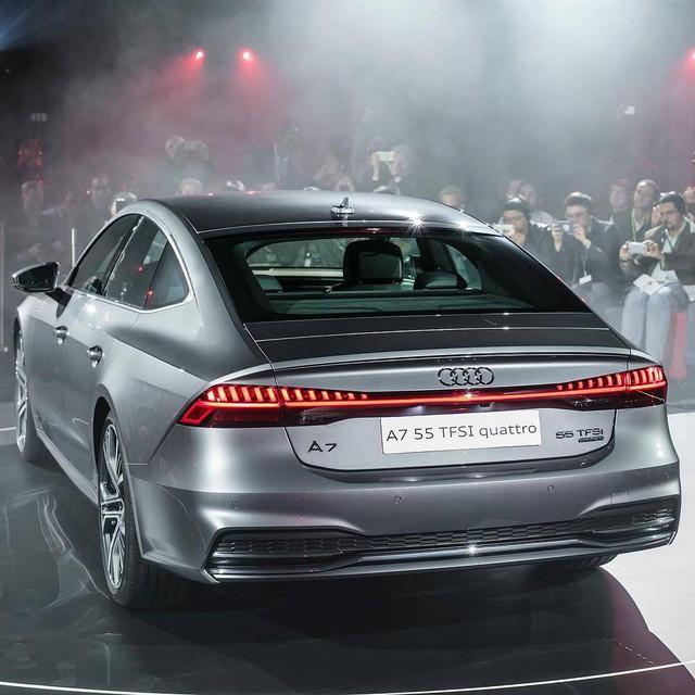 Chiêm ngưỡng vẻ đẹp bằng xương, bằng thịt của xe sang Audi A7 Sportback 2018 mới ra mắt - Ảnh 14.