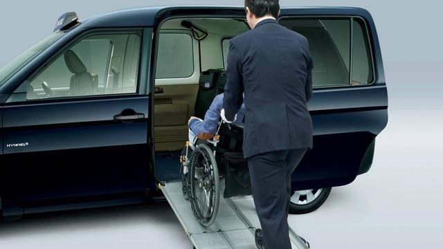 Toyota JPN Taxi - Xe taxi chuyên dụng giá cao - Ảnh 13.