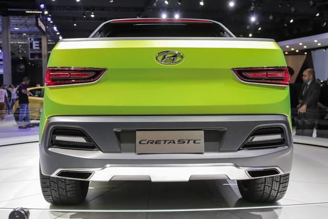 Xe bán tải Hyundai Creta STC sẽ được bán ra vào năm 2019 - Ảnh 4.