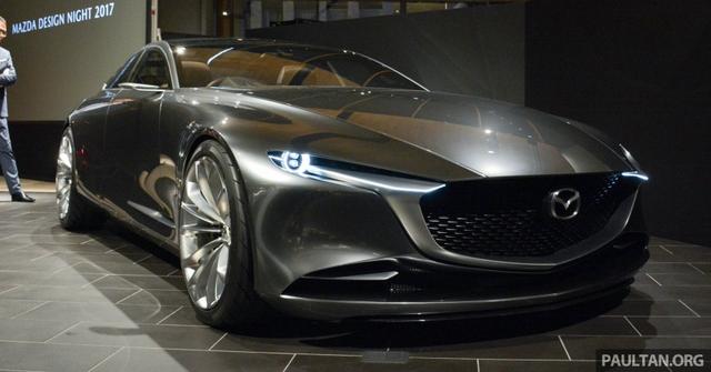 Ngắm Mazda Vision Coupe để biết Mazda6 thế hệ mới sẽ trông như thế nào - Ảnh 3.