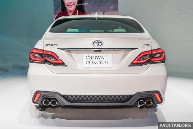 Sedan hạng sang cỡ lớn Toyota Crown Concept ra mắt tại quê nhà - Ảnh 2.