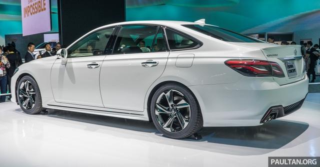 Sedan hạng sang cỡ lớn Toyota Crown Concept ra mắt tại quê nhà - Ảnh 6.