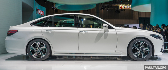 Sedan hạng sang cỡ lớn Toyota Crown Concept ra mắt tại quê nhà - Ảnh 4.