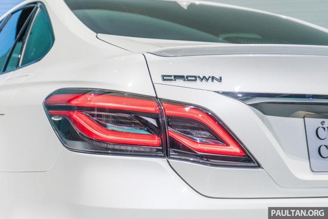 Sedan hạng sang cỡ lớn Toyota Crown Concept ra mắt tại quê nhà - Ảnh 7.
