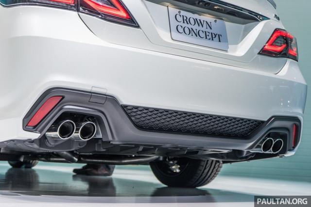 Sedan hạng sang cỡ lớn Toyota Crown Concept ra mắt tại quê nhà - Ảnh 8.