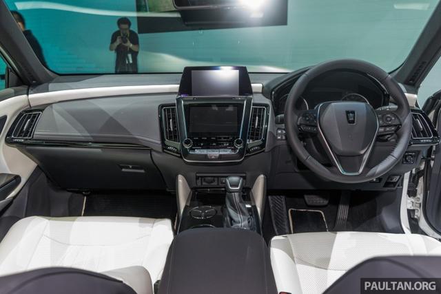 Sedan hạng sang cỡ lớn Toyota Crown Concept ra mắt tại quê nhà - Ảnh 9.