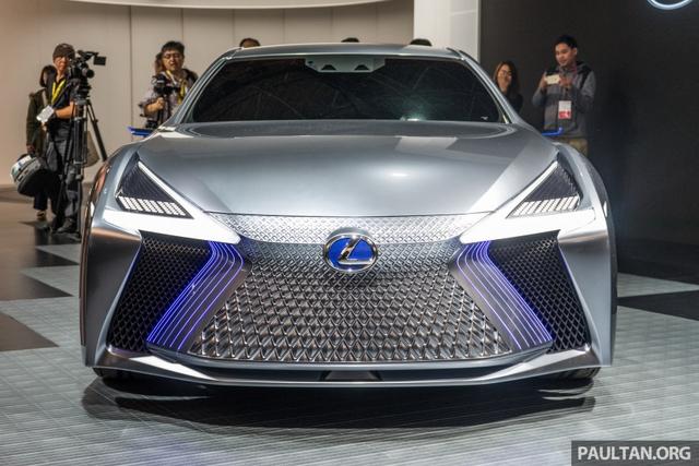 LS+ Concept - Hình ảnh xem trước cho sedan hạng sang đầu bảng của Lexus - Ảnh 1.