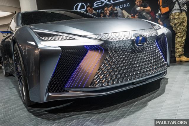 LS+ Concept - Hình ảnh xem trước cho sedan hạng sang đầu bảng của Lexus - Ảnh 3.
