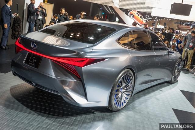 LS+ Concept - Hình ảnh xem trước cho sedan hạng sang đầu bảng của Lexus - Ảnh 7.