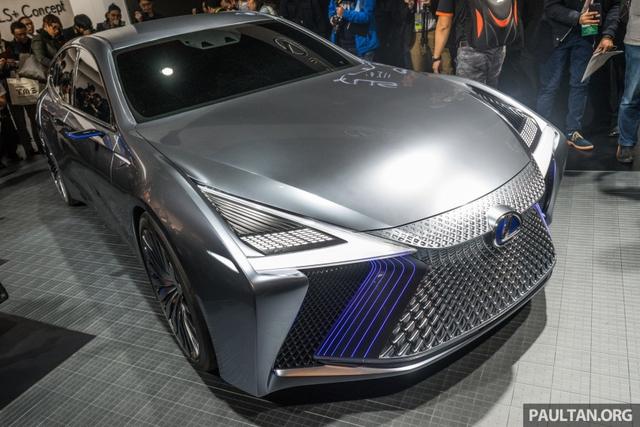 LS+ Concept - Hình ảnh xem trước cho sedan hạng sang đầu bảng của Lexus - Ảnh 9.