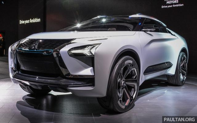 SUV công nghệ cao Mitsubishi e-Evolution Concept được vén màn - Ảnh 1.