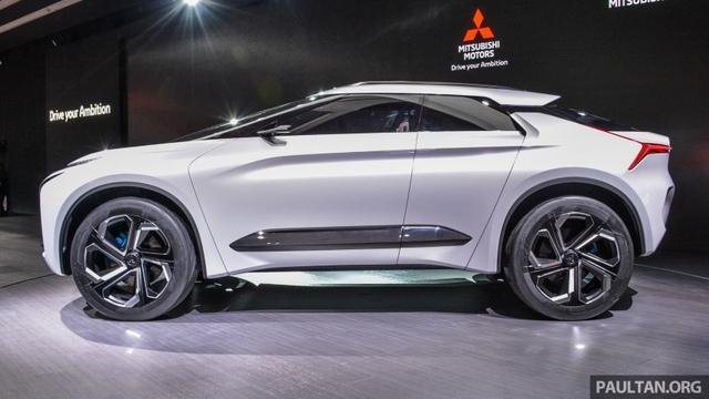 SUV công nghệ cao Mitsubishi e-Evolution Concept được vén màn - Ảnh 2.