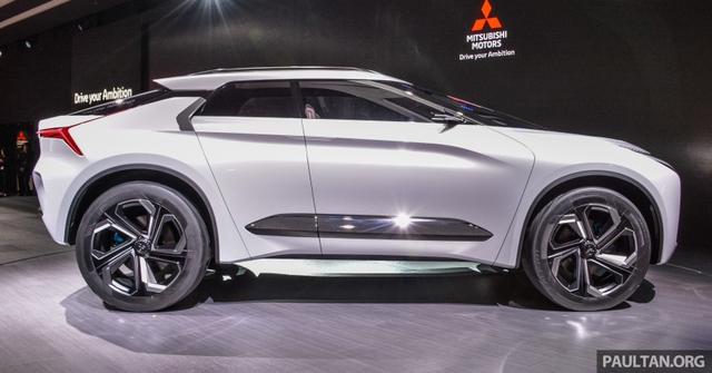 SUV công nghệ cao Mitsubishi e-Evolution Concept được vén màn - Ảnh 3.