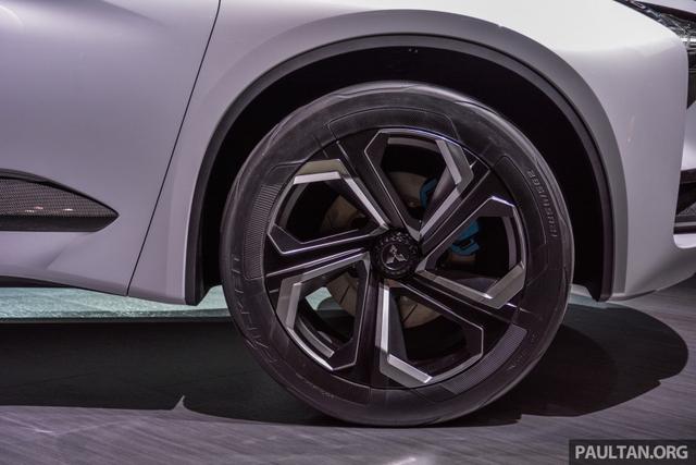 SUV công nghệ cao Mitsubishi e-Evolution Concept được vén màn - Ảnh 4.