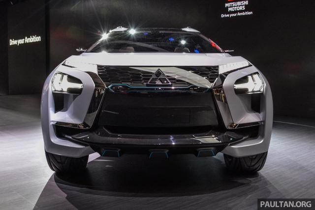 SUV công nghệ cao Mitsubishi e-Evolution Concept được vén màn - Ảnh 5.
