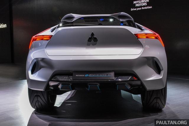 SUV công nghệ cao Mitsubishi e-Evolution Concept được vén màn - Ảnh 6.