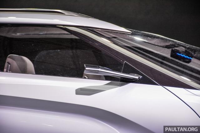 SUV công nghệ cao Mitsubishi e-Evolution Concept được vén màn - Ảnh 12.