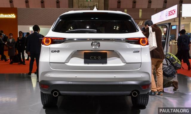 Mục sở thị vẻ đẹp ngoài đời thực của crossover 3 hàng ghế Mazda CX-8 mới - Ảnh 6.