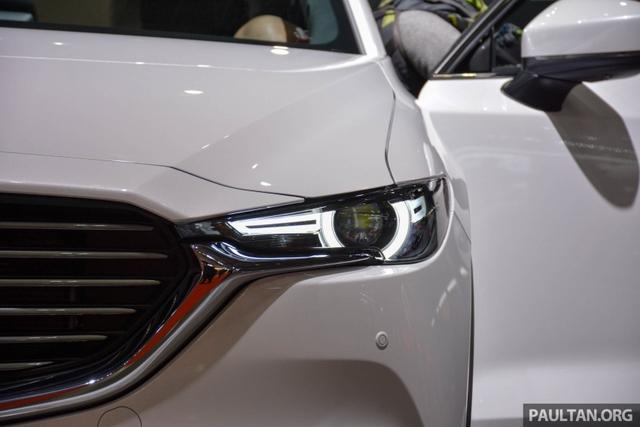 Mục sở thị vẻ đẹp ngoài đời thực của crossover 3 hàng ghế Mazda CX-8 mới - Ảnh 2.