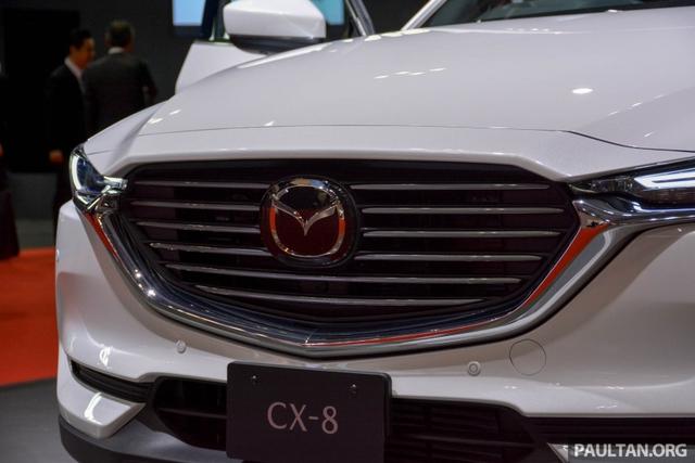 Mục sở thị vẻ đẹp ngoài đời thực của crossover 3 hàng ghế Mazda CX-8 mới - Ảnh 3.