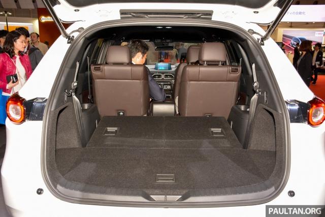 Mục sở thị vẻ đẹp ngoài đời thực của crossover 3 hàng ghế Mazda CX-8 mới - Ảnh 12.