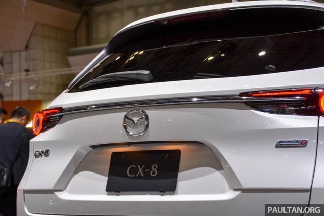 Mục sở thị vẻ đẹp ngoài đời thực của crossover 3 hàng ghế Mazda CX-8 mới - Ảnh 17.