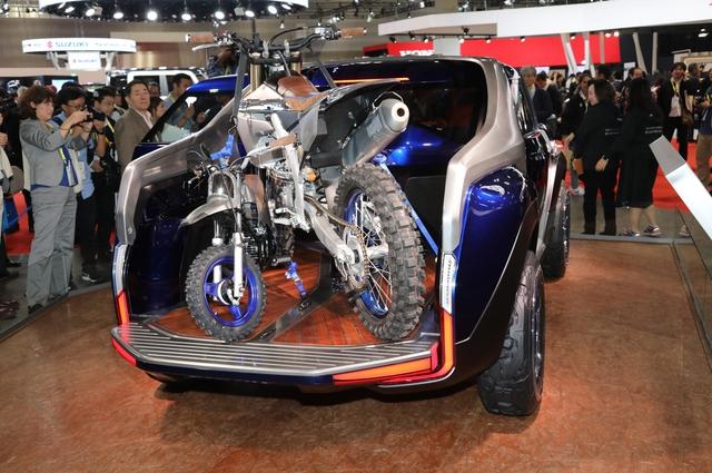 Yamaha gây bất ngờ khi trình làng xe bán tải cỡ nhỏ Cross Hub - Ảnh 7.