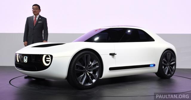 Honda Sports EV Concept - Sự kết hợp giữa kiểu dáng cổ điển và công nghệ hiện đại - Ảnh 1.