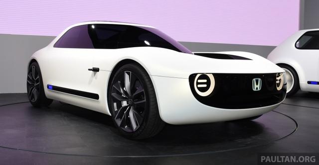 Honda Sports EV Concept - Sự kết hợp giữa kiểu dáng cổ điển và công nghệ hiện đại - Ảnh 2.
