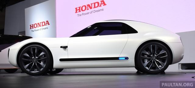 Honda Sports EV Concept - Sự kết hợp giữa kiểu dáng cổ điển và công nghệ hiện đại - Ảnh 3.