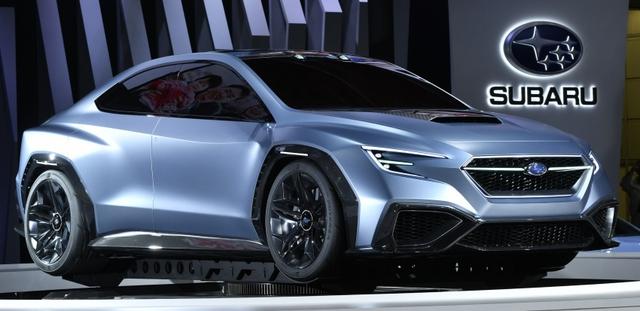 Subaru Viziv Performance - Hình ảnh xem trước của sedan thể thao WRX thế hệ mới - Ảnh 1.