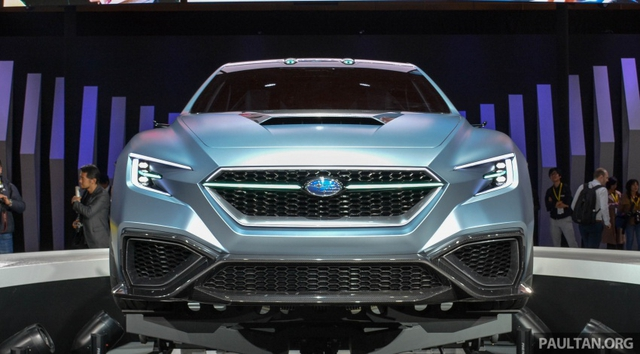Subaru Viziv Performance - Hình ảnh xem trước của sedan thể thao WRX thế hệ mới - Ảnh 10.