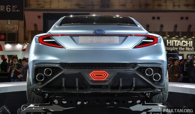Subaru Viziv Performance - Hình ảnh xem trước của sedan thể thao WRX thế hệ mới - Ảnh 3.