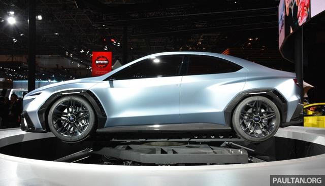 Subaru Viziv Performance - Hình ảnh xem trước của sedan thể thao WRX thế hệ mới - Ảnh 4.