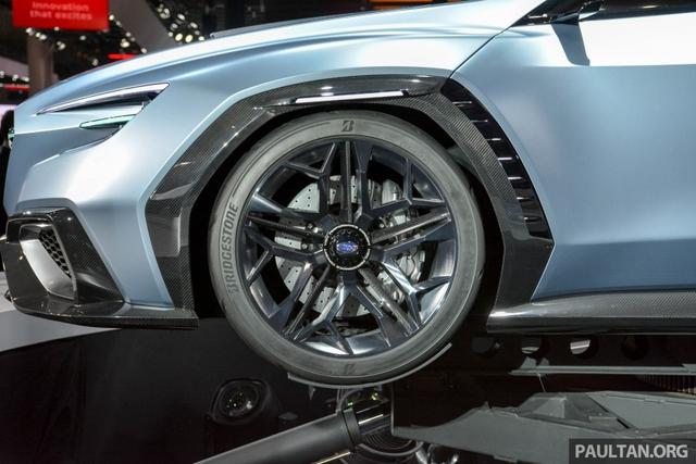 Subaru Viziv Performance - Hình ảnh xem trước của sedan thể thao WRX thế hệ mới - Ảnh 5.