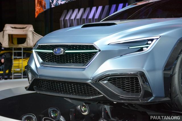 Subaru Viziv Performance - Hình ảnh xem trước của sedan thể thao WRX thế hệ mới - Ảnh 6.