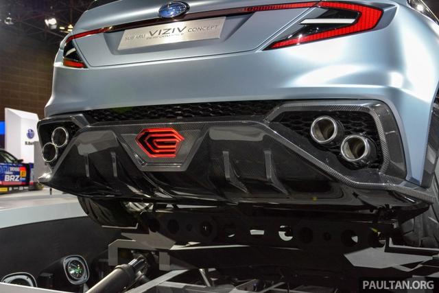 Subaru Viziv Performance - Hình ảnh xem trước của sedan thể thao WRX thế hệ mới - Ảnh 7.