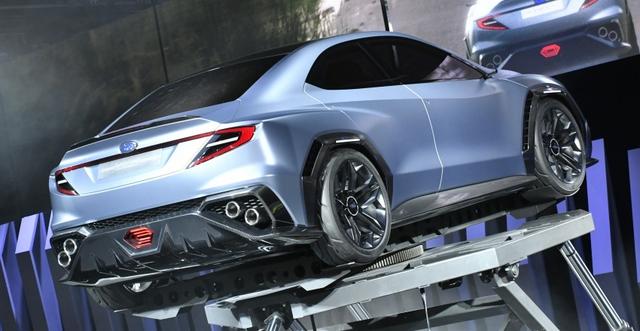 Subaru Viziv Performance - Hình ảnh xem trước của sedan thể thao WRX thế hệ mới - Ảnh 11.