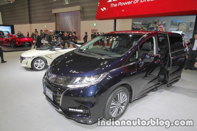 Vén màn xe MPV Honda Odyssey 2018 có thể sẽ về Việt Nam - Ảnh 1.