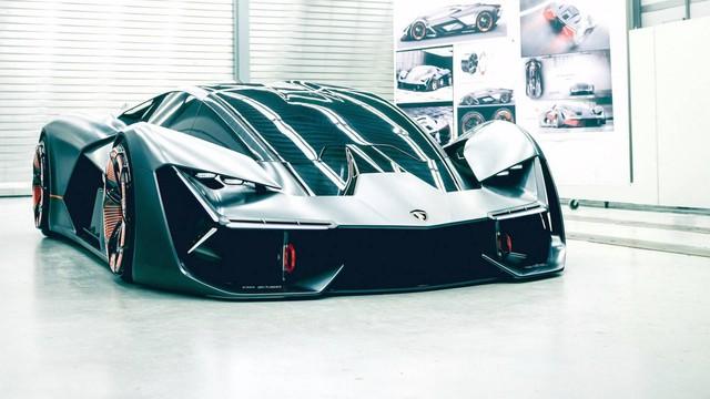 Lamborghini vén màn Terzo Millennio - siêu xe tràn ngập công nghệ đến từ tương lai - Ảnh 1.