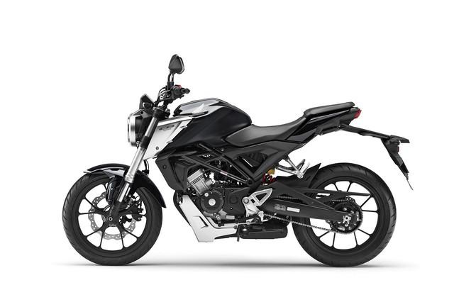 Honda CB125R 2018 - Tiểu CB1000R với kiểu dáng đậm chất cổ điển - Ảnh 4.