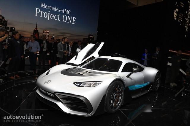 Chưa được phát triển xong, cực phẩm Mercedes-AMG Project One đã đội giá trên thị trường - Ảnh 1.