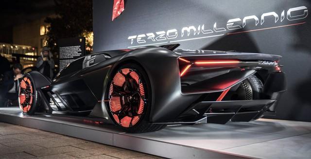 Chiêm ngưỡng vẻ đẹp bằng xương, bằng thịt của siêu phẩm Lamborghini Terzo Millennio mới ra mắt - Ảnh 3.