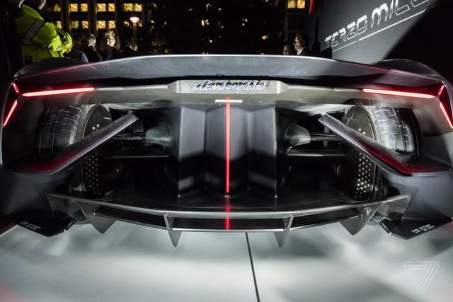 Chiêm ngưỡng vẻ đẹp bằng xương, bằng thịt của siêu phẩm Lamborghini Terzo Millennio mới ra mắt - Ảnh 11.