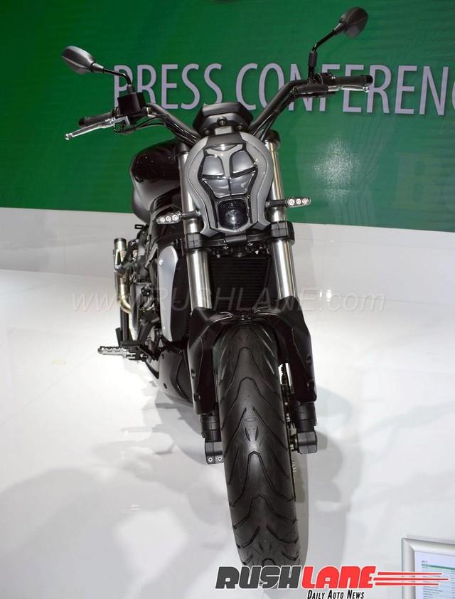 Benelli 402S - Xe cruiser mới với kiểu dáng na ná Ducati XDiavel - Ảnh 8.