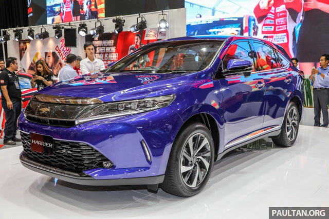 Chi tiết SUV 5 chỗ Toyota Harrier 2018 tại Malaysia, không còn là phiên bản giá rẻ của Lexus RX - Ảnh 1.
