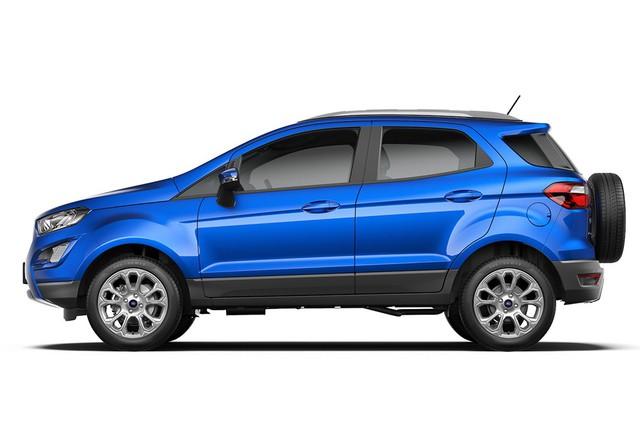 Ford EcoSport 2018 ra mắt Ấn Độ với giá hấp dẫn - Ảnh 1.