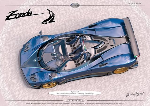 Pagani thai nghén phiên bản có một không hai mới của siêu xe Zonda - Ảnh 1.